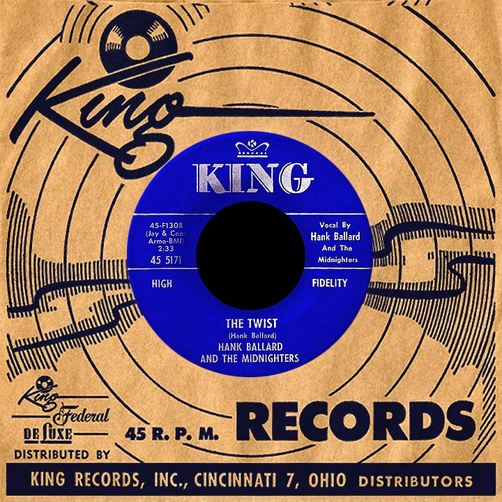 Image result for song by hank ballard the twist