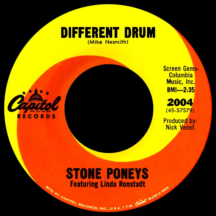 Stone Poneys, The* Stone Poneys - Different Drum / I've Got To Know