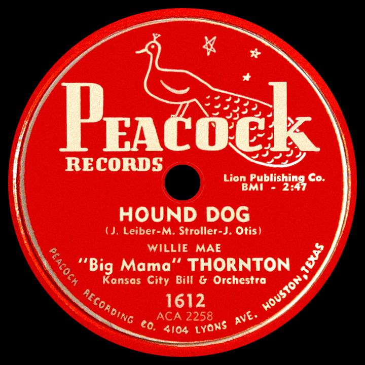 Hound Dog Was Recorded By Willie Mae Big Mama Thornton