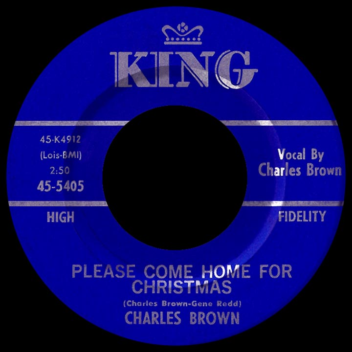 Please Come Home For Christmas Eagles.Charles Brown Way Back Attack