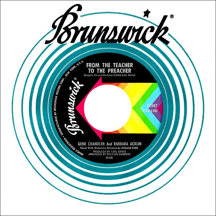 Gene Chandler - Nothing Can Stop Me / You Threw A Lucky Punch / Just Be True
