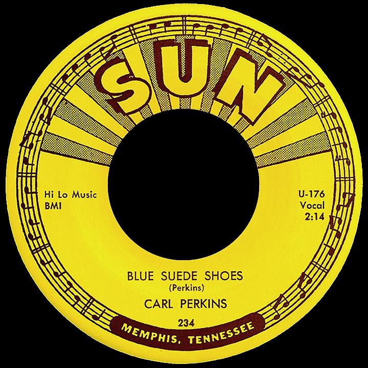 Words To Blue Suede Shoes